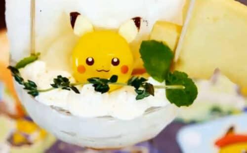 Десерт в виде покемонов