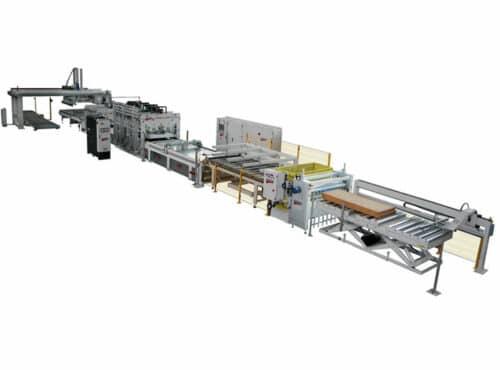 Линия по производству ламината