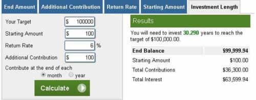 Расчет инвестиций калькулятор
