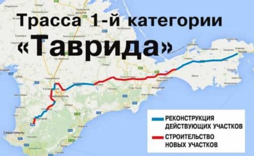 """Трасса """"Таврида"""" в Крыму"""